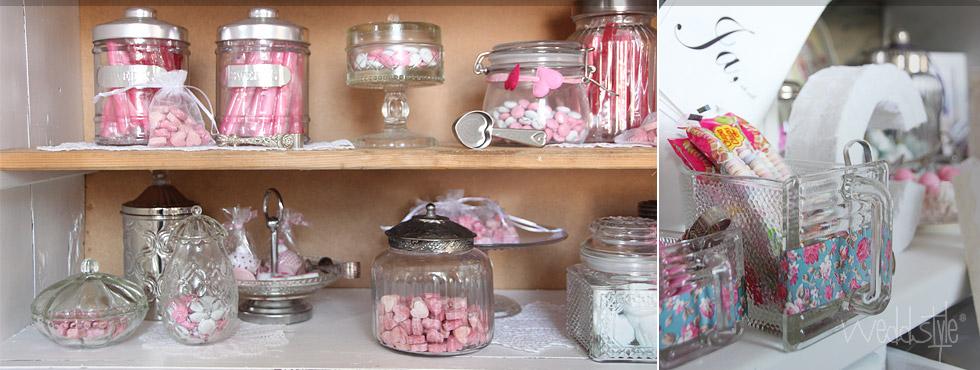 deine candy bar f r deine hochzeit mieten weddstyle. Black Bedroom Furniture Sets. Home Design Ideas