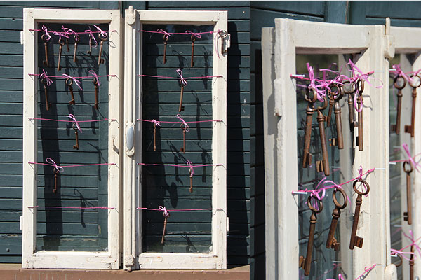 Altes Fenster Dekorieren Altes Holzfenster Landhaus Sprossenfenster