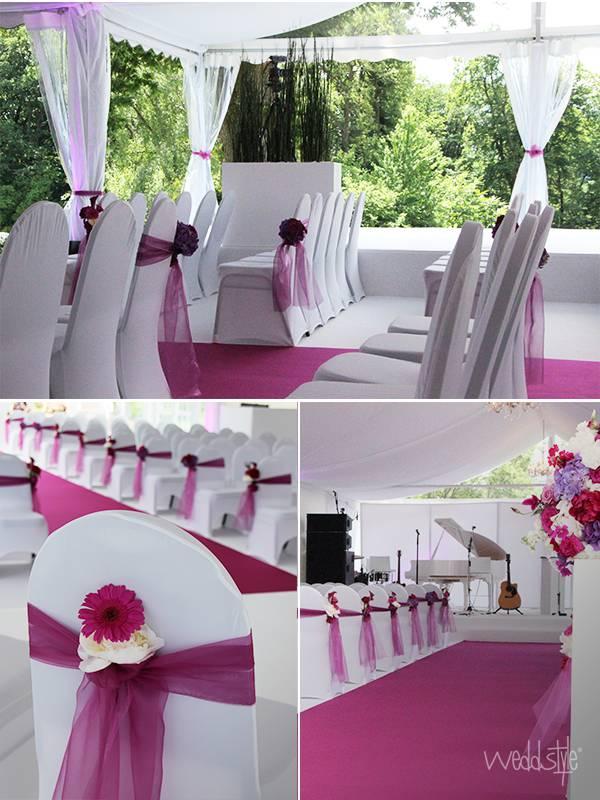 Hochzeitsteppich in verschiedenen farben mieten weddstyle for Dekoration hochzeit mieten
