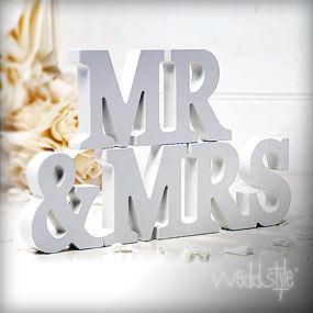 Buchstaben für Hochzeit & Deko | weddstyle