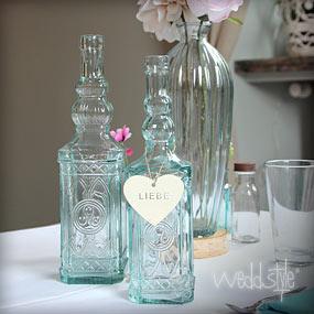 Blumenvasen & Vasen für Hochzeit mieten  WEDDstyle