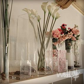 blumenvasen vasen f r hochzeit mieten weddstyle. Black Bedroom Furniture Sets. Home Design Ideas