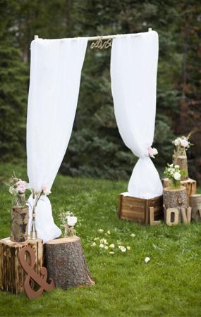 Hochzeitsdekoration Fur Freie Trauung Weddstyle