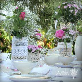 Vintage Vasen Und Mason Jars Gl Ser F R Hochzeit Mieten