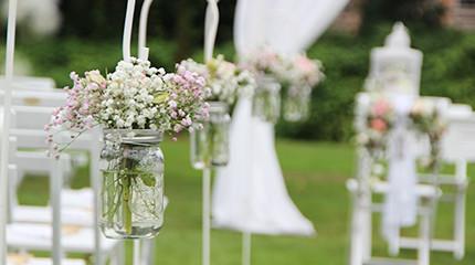 Freie Trauung Hochzeitsdekoration Weddstyle