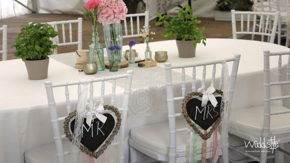 Vintage Hochzeitdeko Biespiel Weddstyle